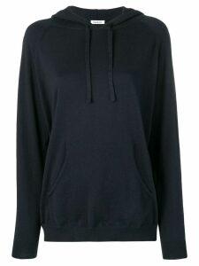 P.A.R.O.S.H. knit hoodie - Blue