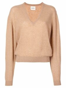 Khaite cashmere v-neck sweater - Brown