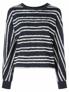 Kinly striped knit sweater - Blue