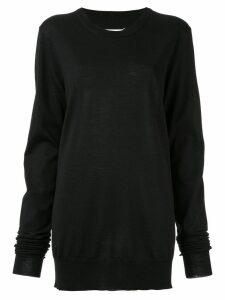 Maison Margiela classic knit sweater - Black