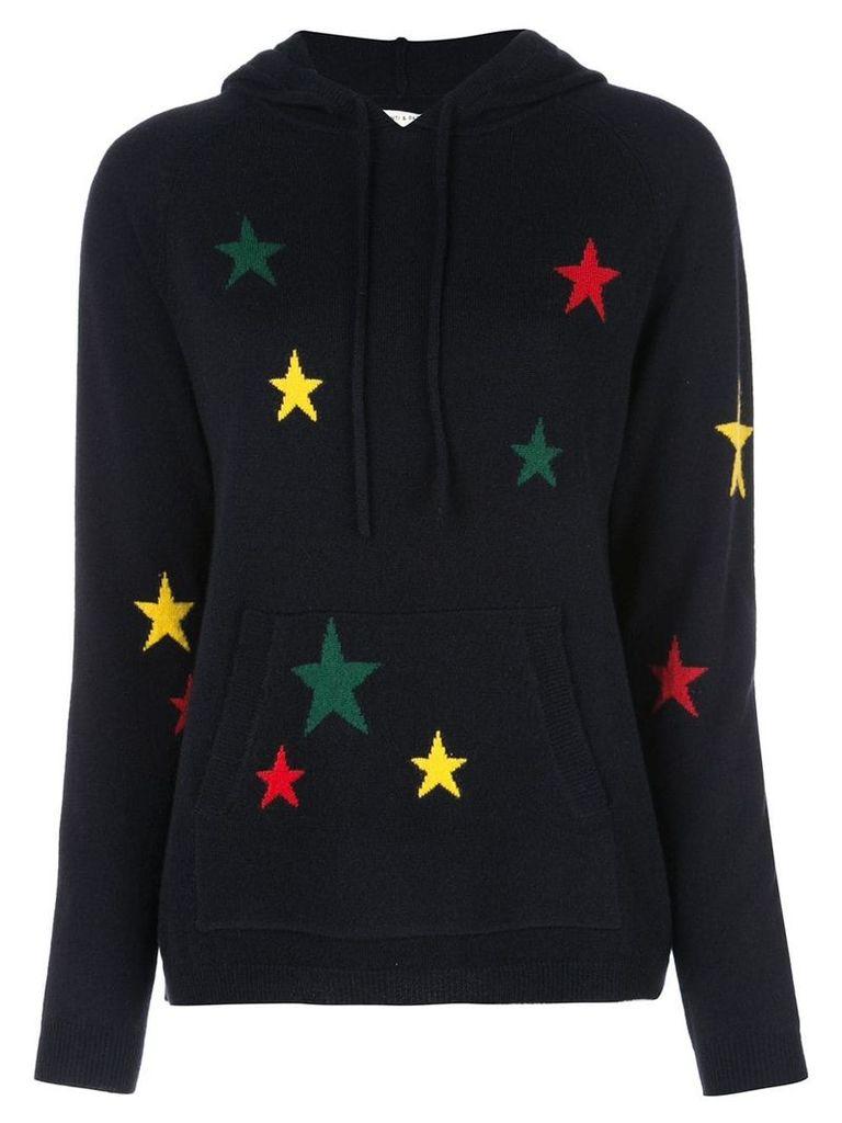 Chinti & Parker cashmere intarsia sweater - Blue