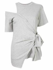 Goen.J body wrap T-shirt - Grey