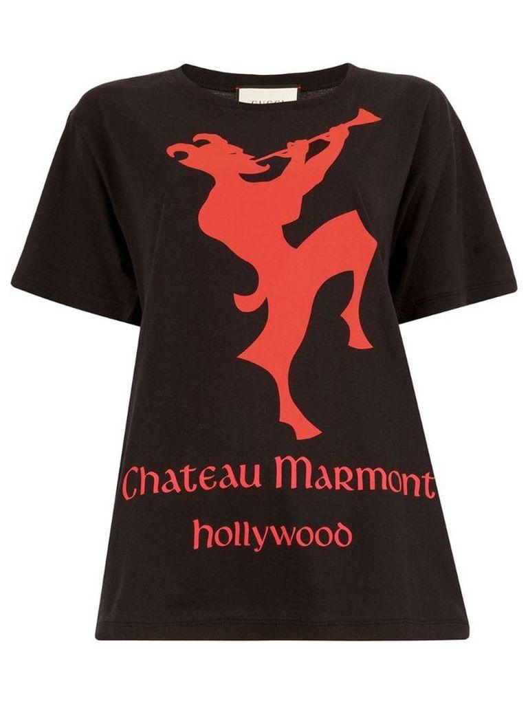 Gucci Chateau Marmont T-shirt - Black