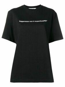 MSGM statement T-shirt - Black