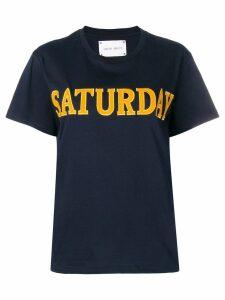 Alberta Ferretti Saturday T-shirt - Blue