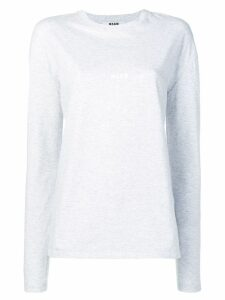 MSGM basic jersey - Grey