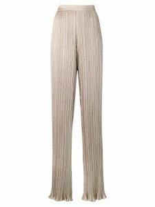 Max Mara high waisted trousers - Neutrals