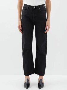 Harris Wharf London - Wool Pea Coat - Womens - Light Grey