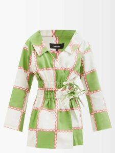 Harris Wharf London - Pressed Wool Overcoat - Womens - Navy