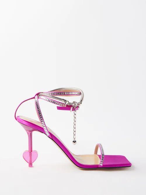 Harris Wharf London - Pressed Wool Overcoat - Womens - Light Blue