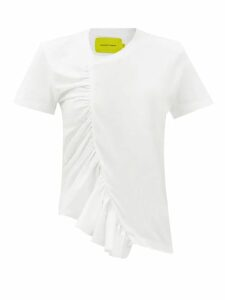 Harris Wharf London - Pressed Wool Overcoat - Womens - Light Blue
