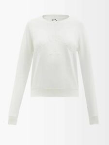 Raquel Diniz - Olivia Leopard Print Silk Georgette Dress - Womens - Blue Multi