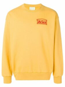 Aries Aries sweatshirt - Yellow