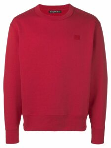Acne Studios Regular fit sweatshirt - Red
