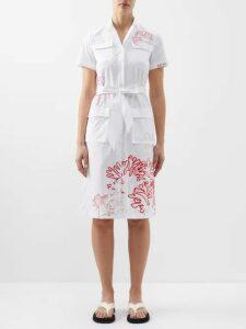 Isabel Marant - Adelaide Organza Mini Dress - Womens - Black