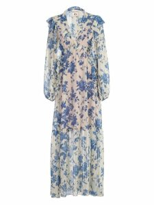 SEMICOUTURE Floral Maxi Dress
