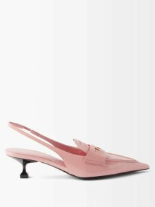 Gabriela Hearst - Claremont Reversible Wool Blend Trench Coat - Womens - Blue Multi