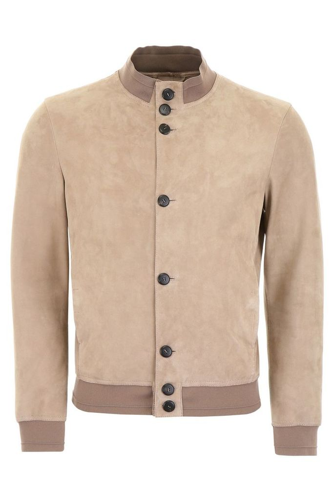 Giorgio Armani Suede Jacket