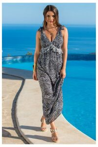 Womens Pour Moi Maxi Dress -  Grey