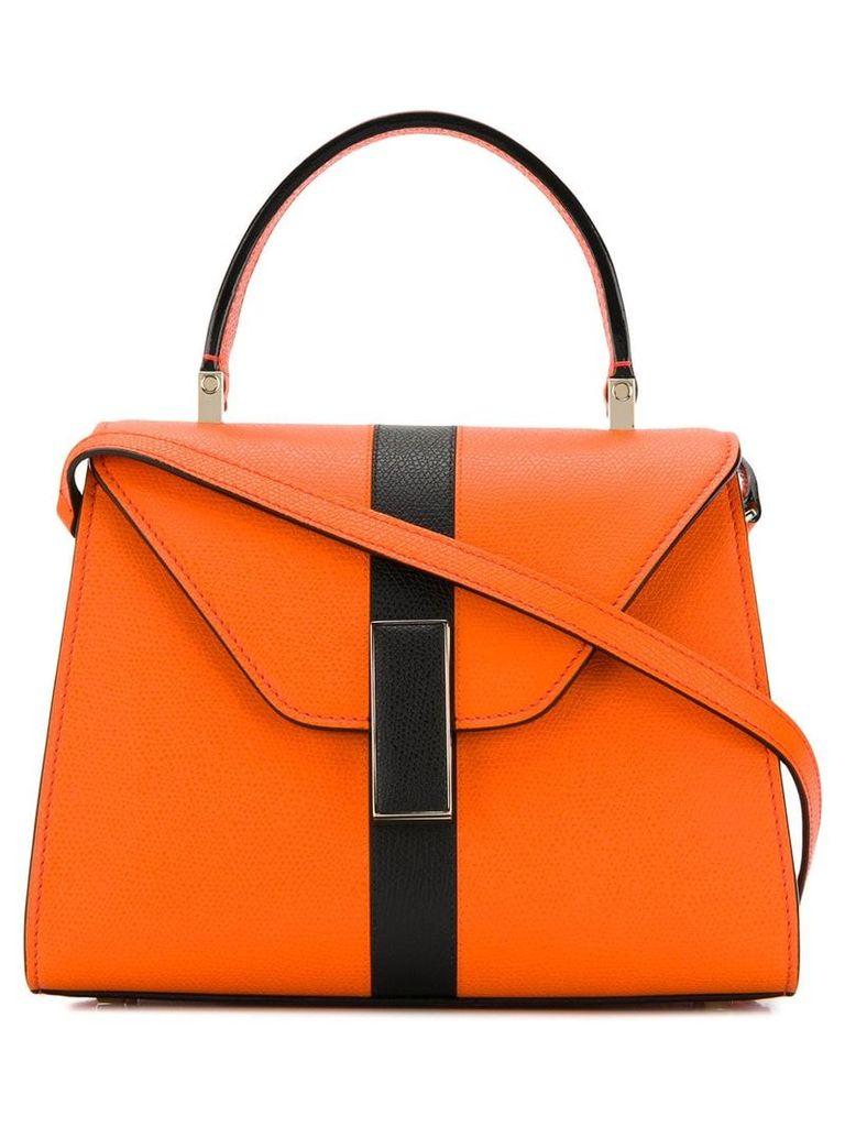 Valextra mini stripe handbag - Orange