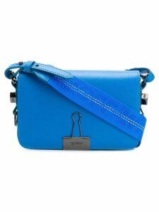 Off-White Binder Clip shoulder bag - Blue