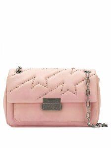 Zadig & Voltaire ziggy mat shoulder bag - Pink