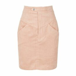 Isabel Marant Marsh Light Pink Corduroy Skirt