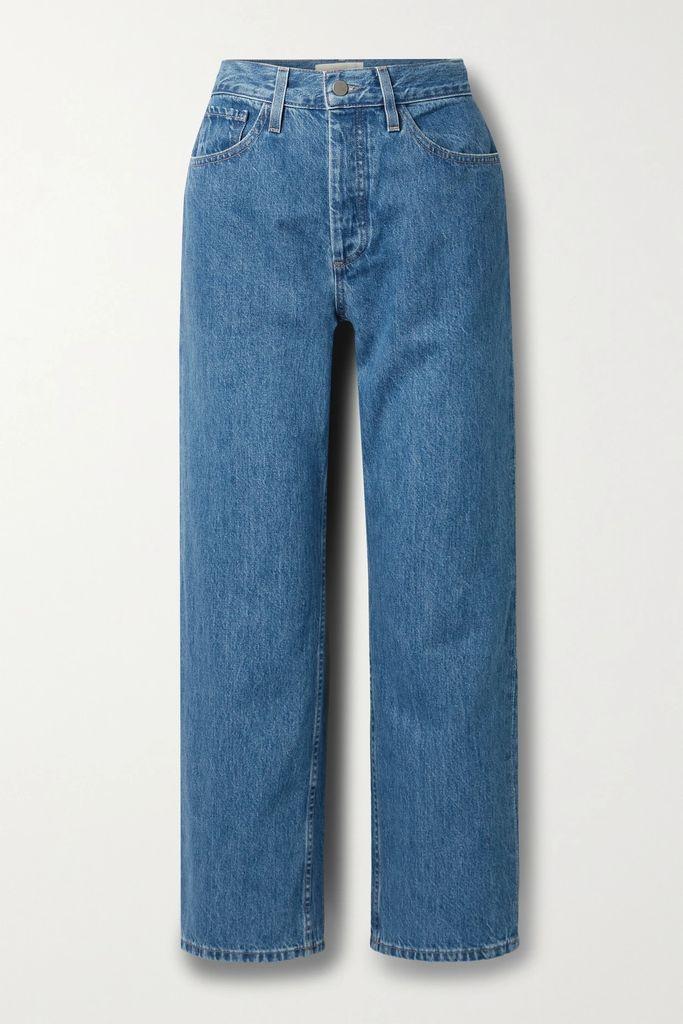 Victoria, Victoria Beckham - Plissé-trimmed Crepe Mini Dress - Black