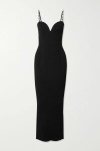 Marni - Pleated Metallic Coated-crepe De Chine Midi Skirt - Pink