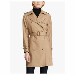 Lauren Ralph Lauren Trench Coat, Sand