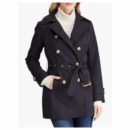 Lauren Ralph Lauren Belted Trench Coat, Navy