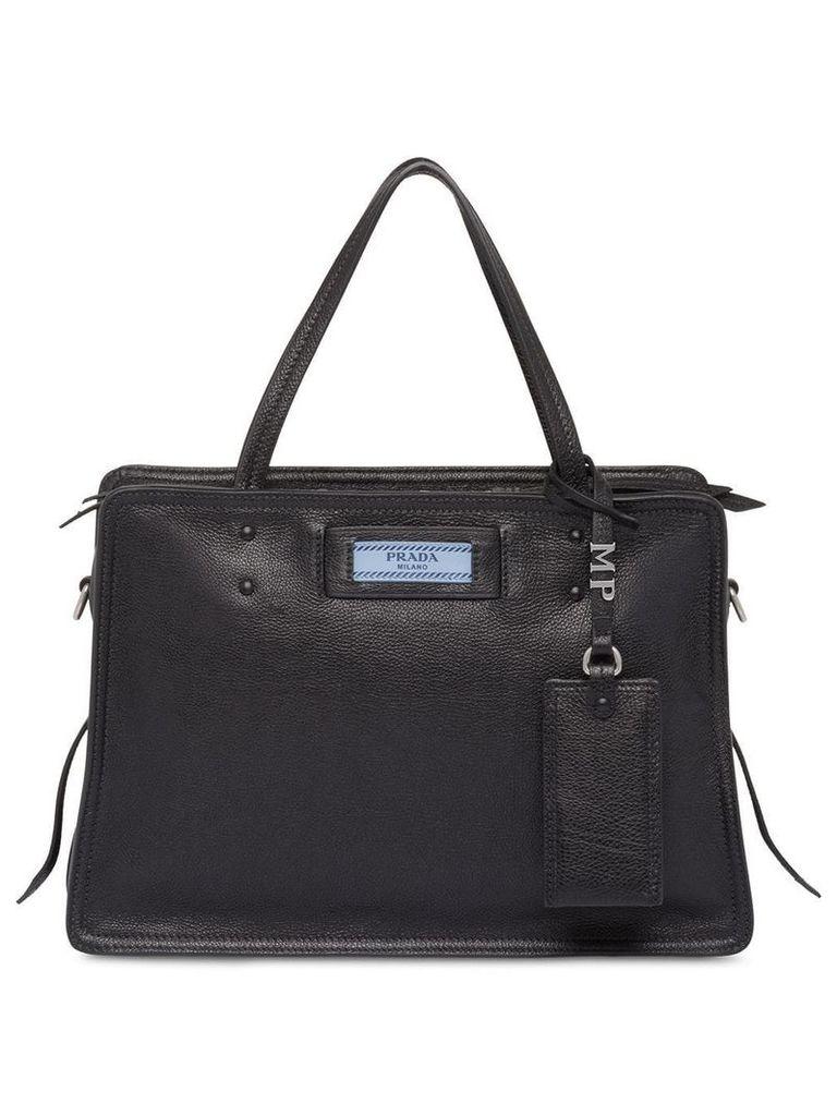 Prada Etiquette leather bag - Black