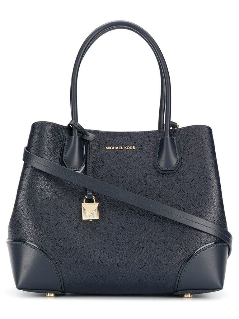 Michael Michael Kors Mercer Gallery medium tote bag - Blue