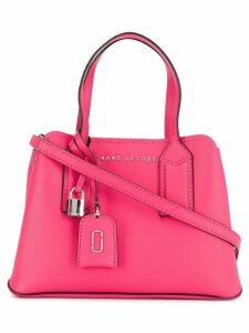 Marc Jacobs logo plaque tote - Pink