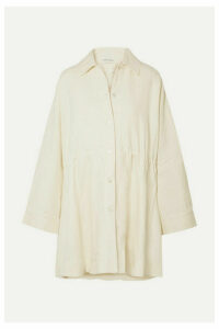 Mansur Gavriel - Oversized Linen Coat - Cream