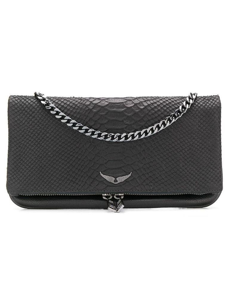 Zadig & Voltaire crossbody clutch bag - Black