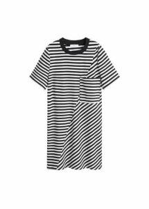 Mixed striped dress