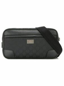 Gucci Pre-Owned GG Pattern Waist Bum Bag - Black