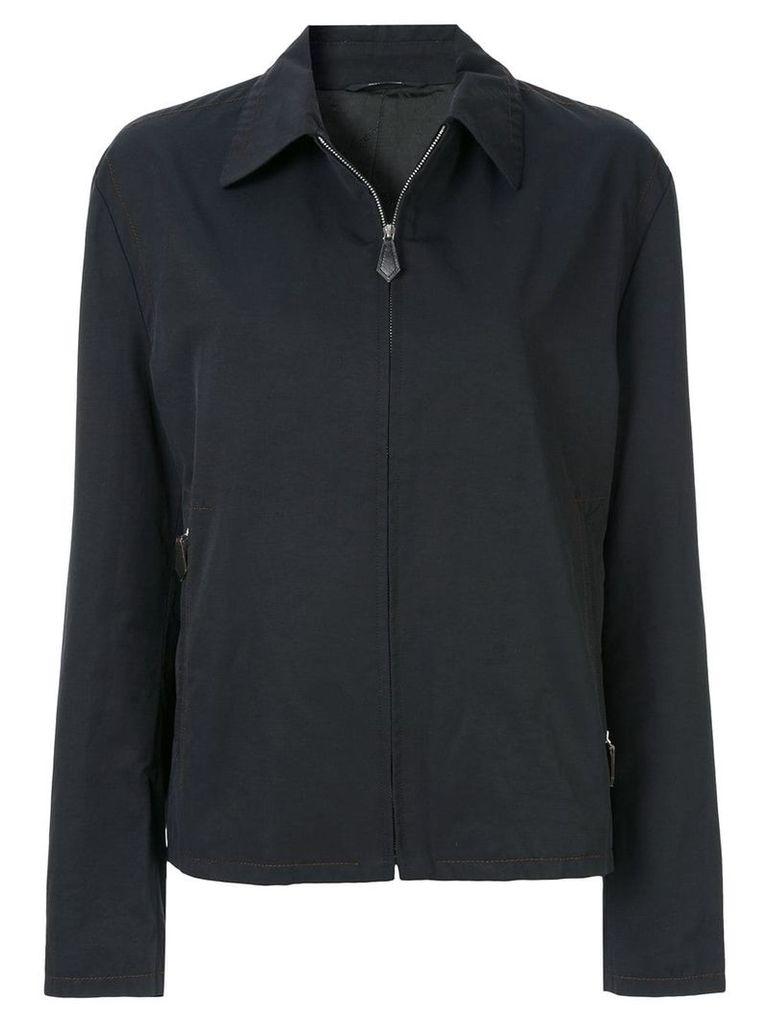 Hermès Vintage HERMES long sleeve coat jacket - Black
