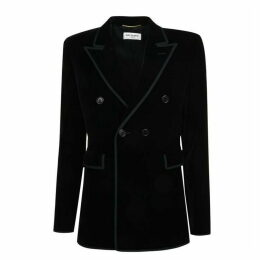 SAINT LAURENT Velvet Blazer