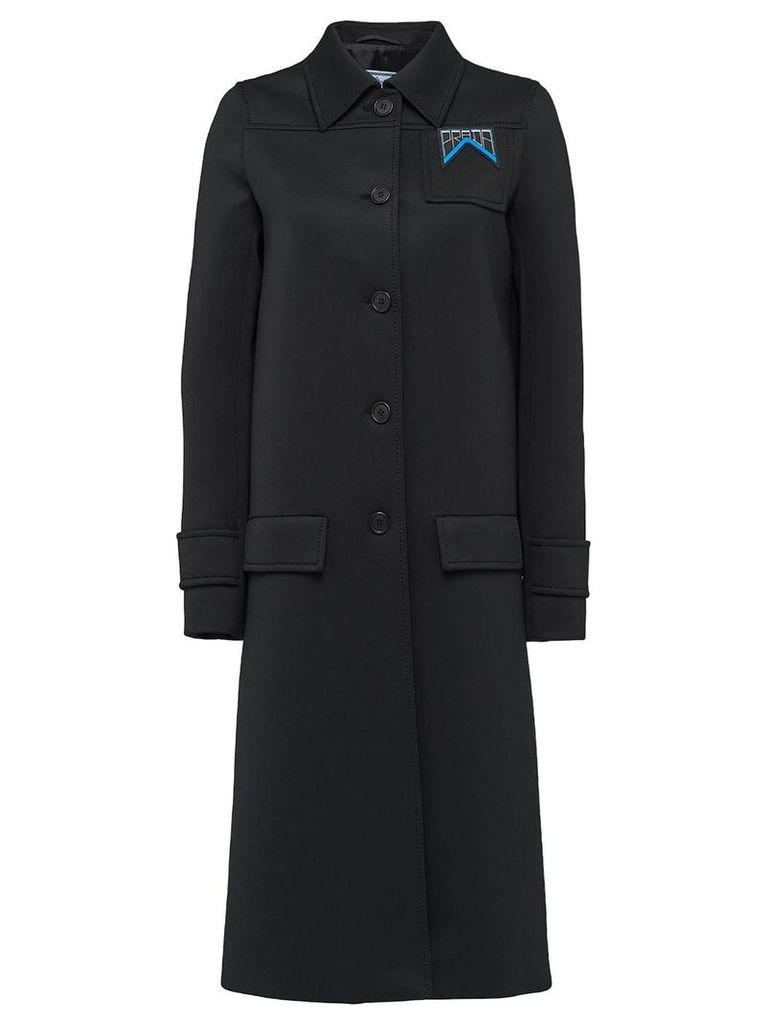 Prada single-breasted coat - Black