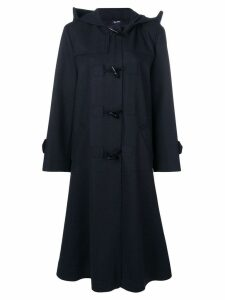 Jil Sander Navy single breasted duffle coat - Blue