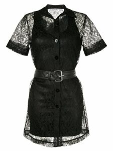 Alexander Wang short lace dress - Black