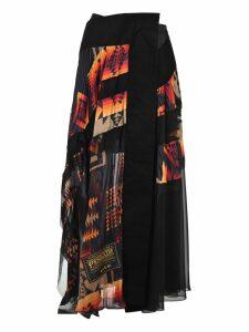 Sacai Sacai Pendleton Skirt