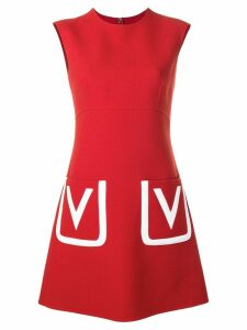 Valentino V A-line dress - Red