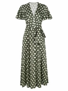 Petersyn Tayla dotted dress - Green