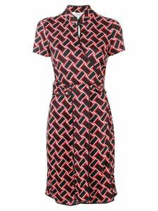 Dvf Diane Von Furstenberg Jovie keyhole dress - Red