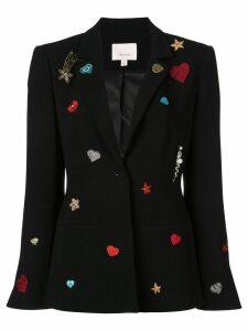Cinq A Sept Rumi patch blazer - Black