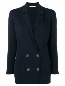 Agnona double breasted blazer - Blue