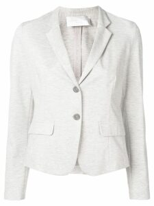 Fabiana Filippi lightweight fitted blazer - Grey